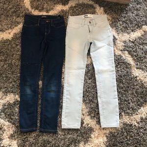 old navy kids size 8 jeans